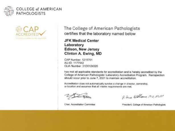 CAP Anthology Diagnostics